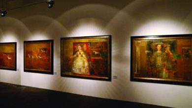 Artist depicts Bosnian social life at Katara expo
