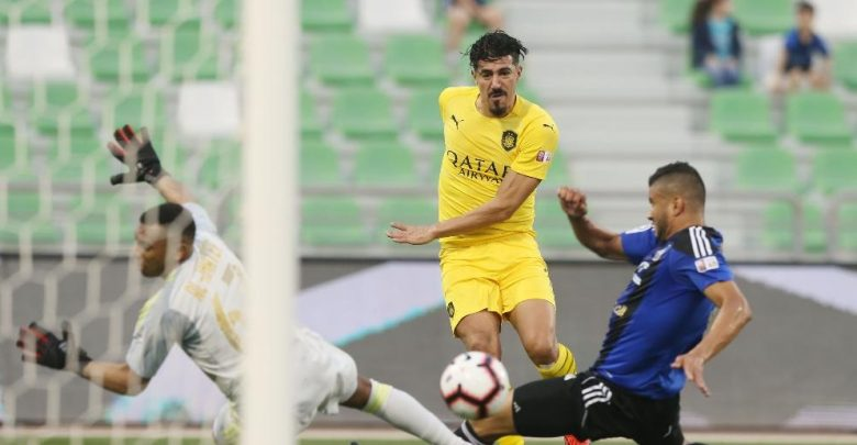 Bounedjah nets 35th goal as Al Sadd extend lead