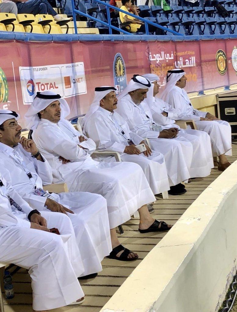 Amir attends African Super Cup final