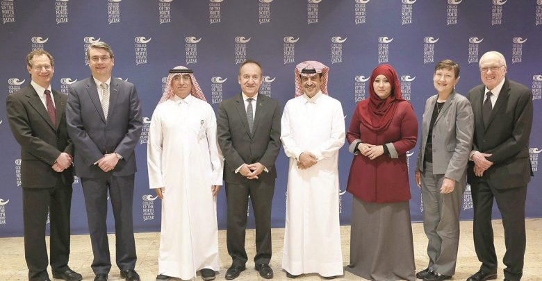 CNA-Q hosts IUPUI delegation visiting Doha to explore educational opportunities