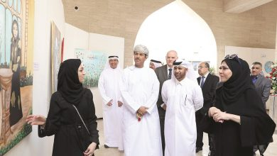 'Hope enlightens life' art expo opens at Katara