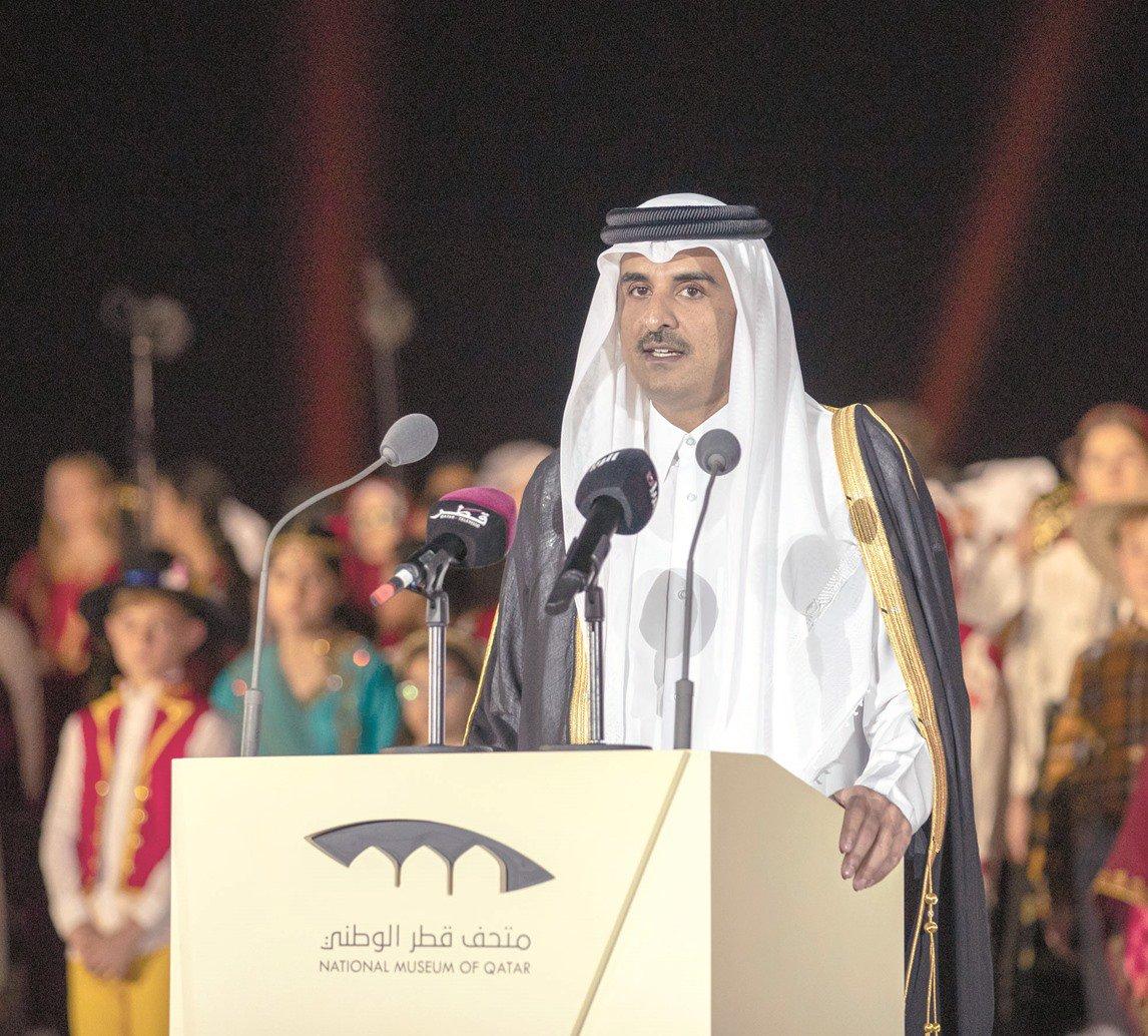 Desert Rose blooms as Amir Inaugurates National Museum of Qatar