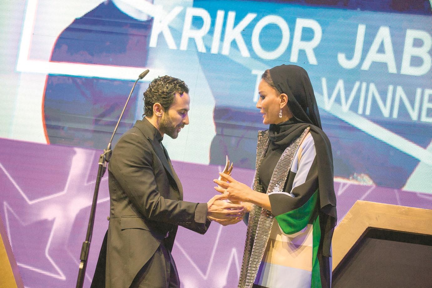 Sheikha Moza attends Fashion Trust Arabia Prize ceremony