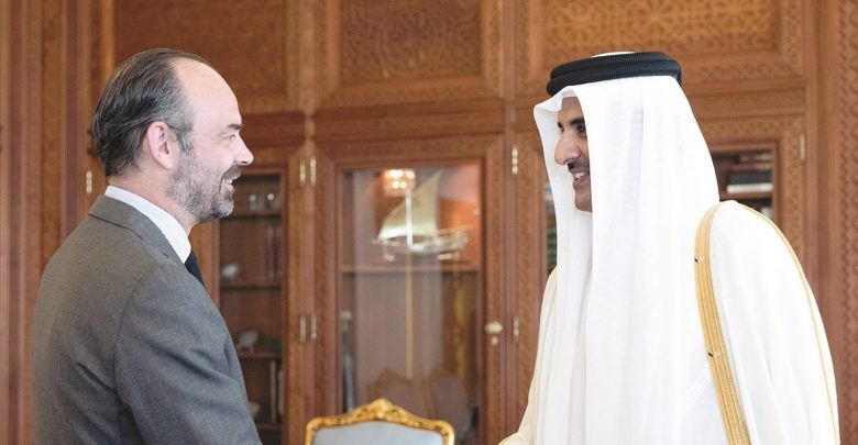 HH reviews relations of cooperation and friendship with French PM