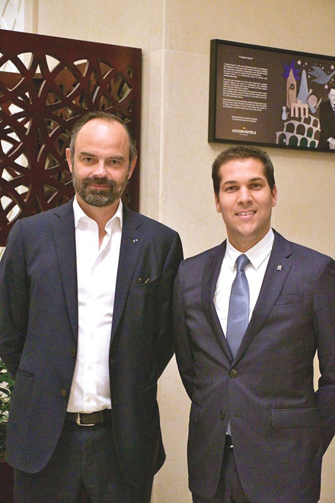 Alwadi Hotel Doha MGallery hosts French prime minister