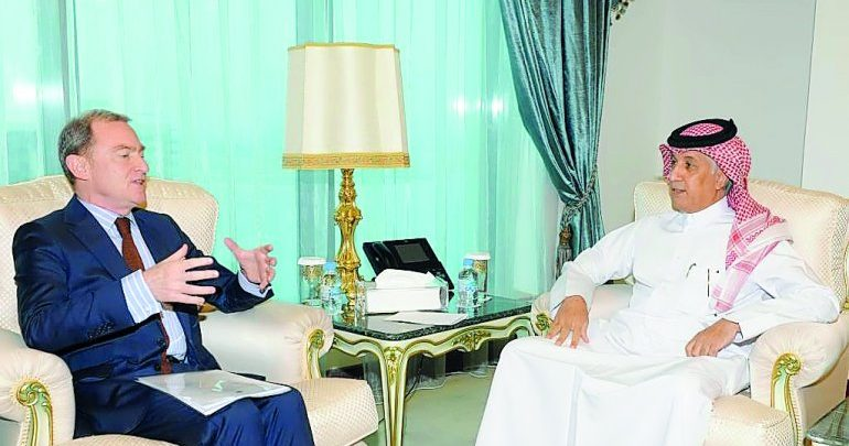 Qatar, France review bilateral relations