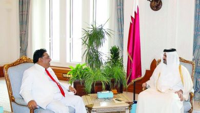 Photo of Deputy Amir honors outgoing Sri Lankan Ambassador