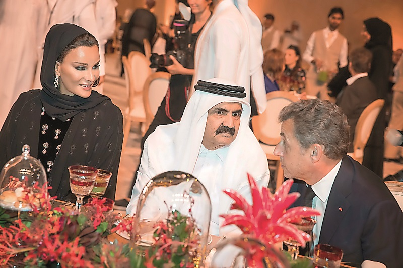 Amir attends banquet held on occasion of NMoQ opening