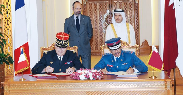 Qatar and France sign several pacts; reiterate fight against terrorism