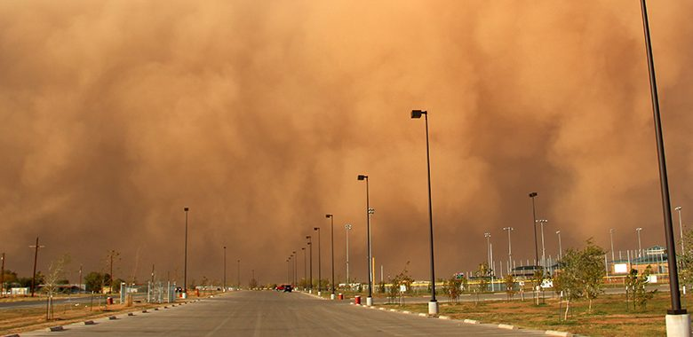 HMC is Advising the Public to Take Precautions during Dust Storms