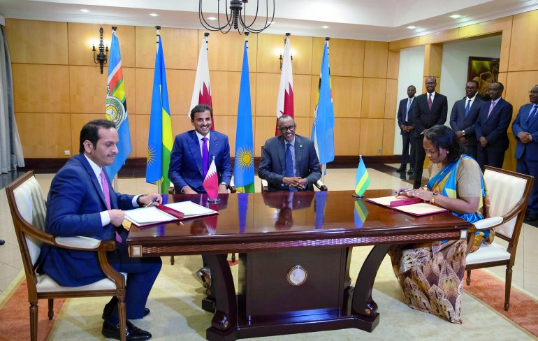 Amir, Rwanda President witness signing of MoUs