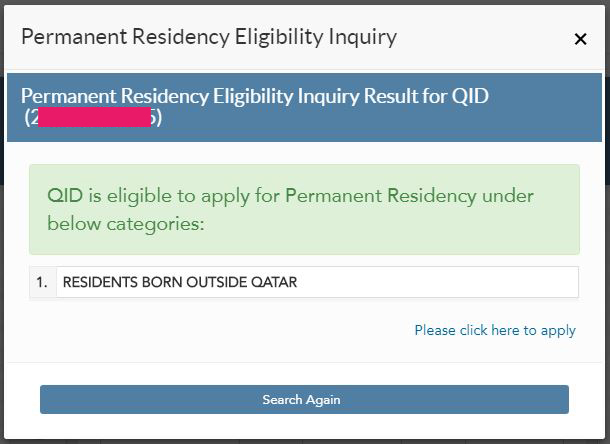 Qatar begins to receive applications for permanent residence