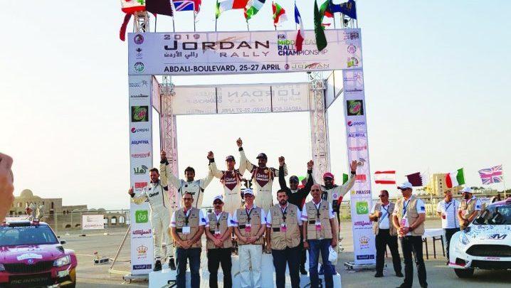 Al Attiyah seals record win in Jordan