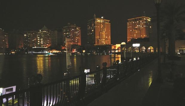 The Pearl-Qatar observes Earth Hour