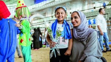 Sheikha Hind attends QF's autism awareness event