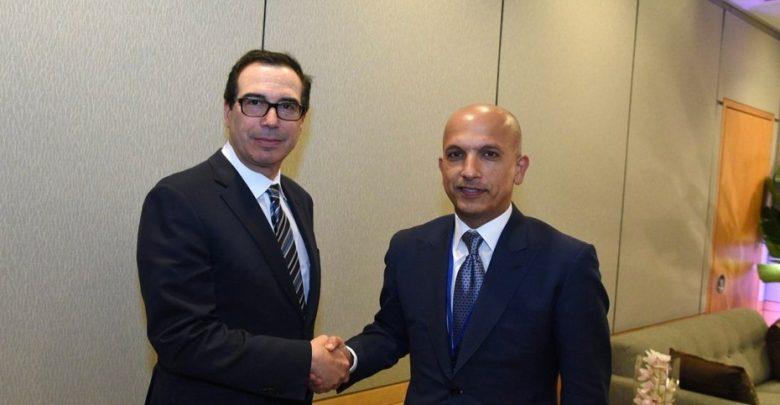 Minister of Finance meets Mnuchin