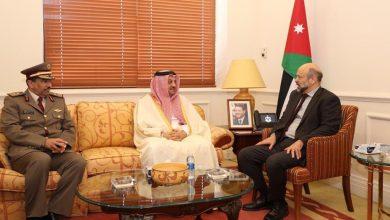 Deputy Prime Minister meets Jordan's PM