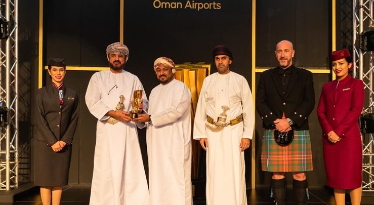 Qatar Airways wins two awards at the Oman Airports Awards 2019