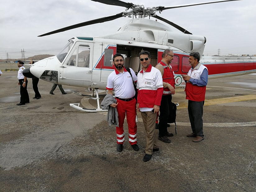 QRCS launches relief response to Iran floods