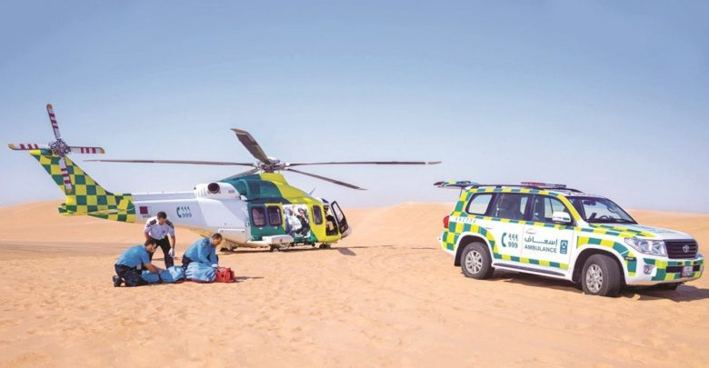 HMC's ambulance service provides faster approach for 8th consecutive year