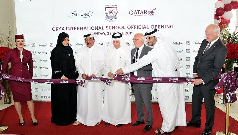 Oryx International School Campus in Mesaimeer officially opened