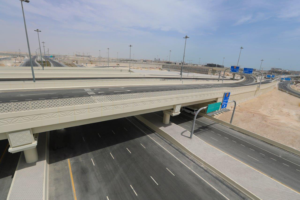 Doha to Al Khor in 20 minutes as 5-lane road opens