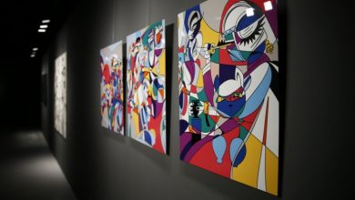 Qatari artist displays his works at Escapism exhibition at Katara