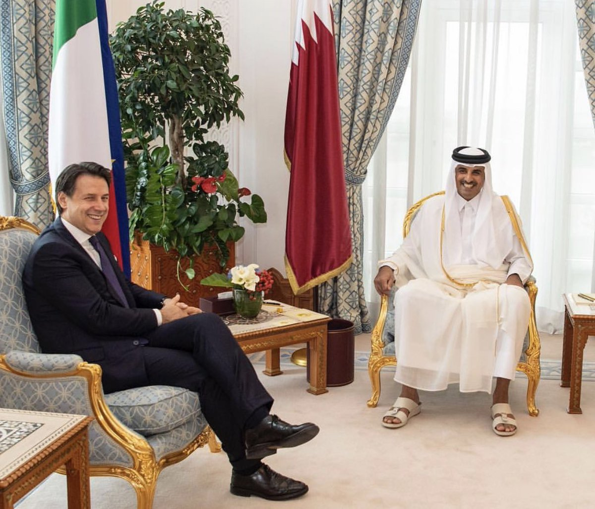 Qatar, Italy vow to strengthen relations