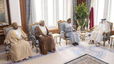 Photo of Amir Meets Oman's Consultative Council President