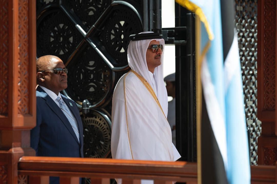 Amir, Botswana President review ties