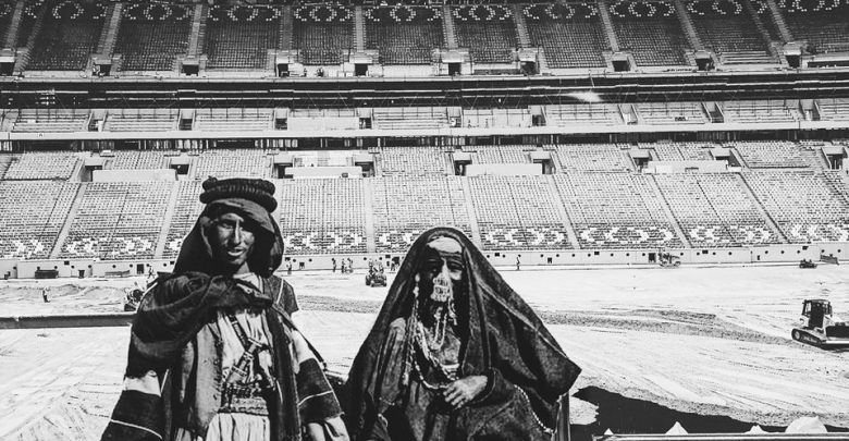 What if the Al Bayt Stadium was 100 years ago?!