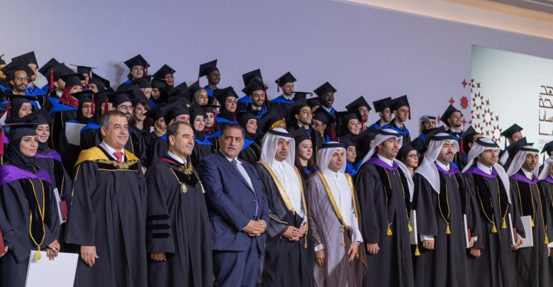 Prime Minister attends graduation of third batch of graduates of Doha Institute for Graduate Studies