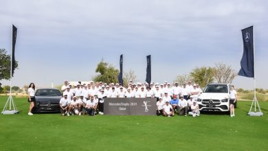 The Fourth edition of the Mercedes Trophy Golf Tournament in Qatar gathers 88 players