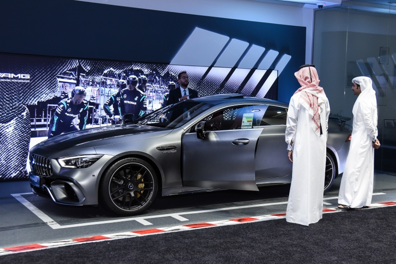 NBK Automobiles hosts private viewing for the new Mercedes