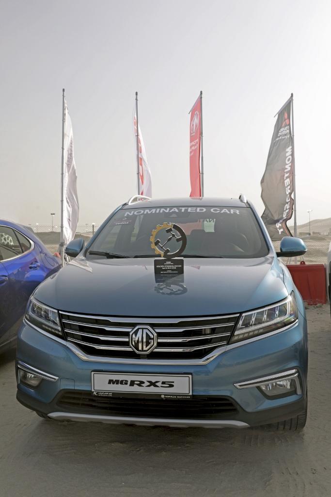 MG RX5 تفوز بجائزة أفضل مركبة كروس اوفر المدمجة