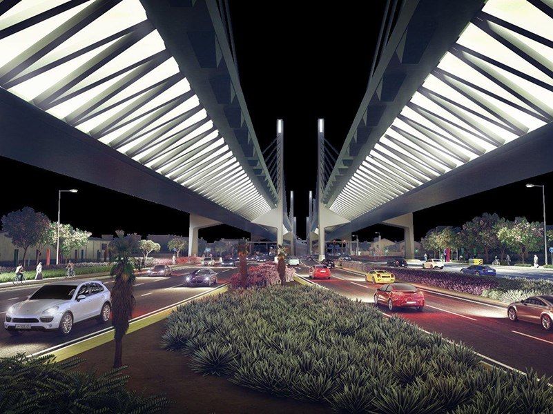 Ashghal Goes ahead with Qatar's First Cable-Stayed bridge