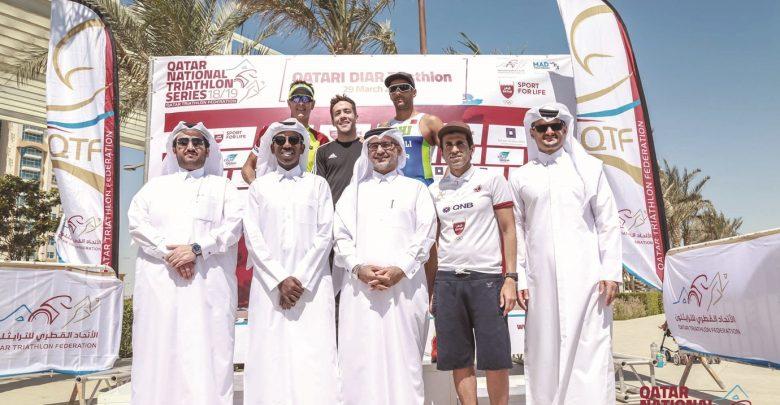 McCullagh tops Qatari Diar Triathlon