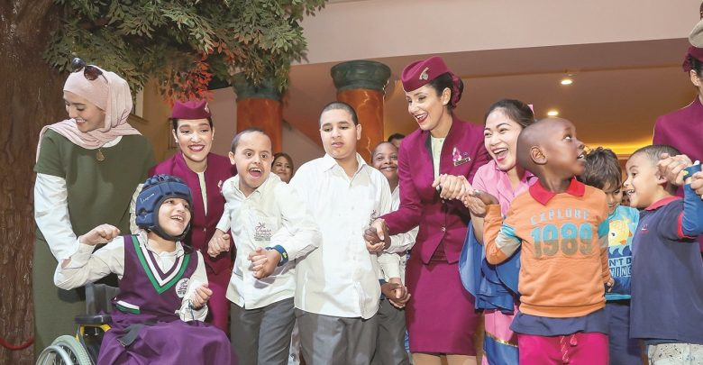 Qatar Airways hosts several events in support of autism awareness month