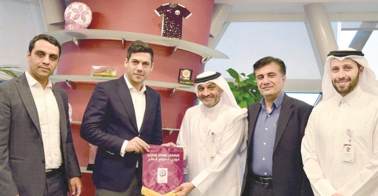 QSL CEO meets Iranian Football Federation delegation