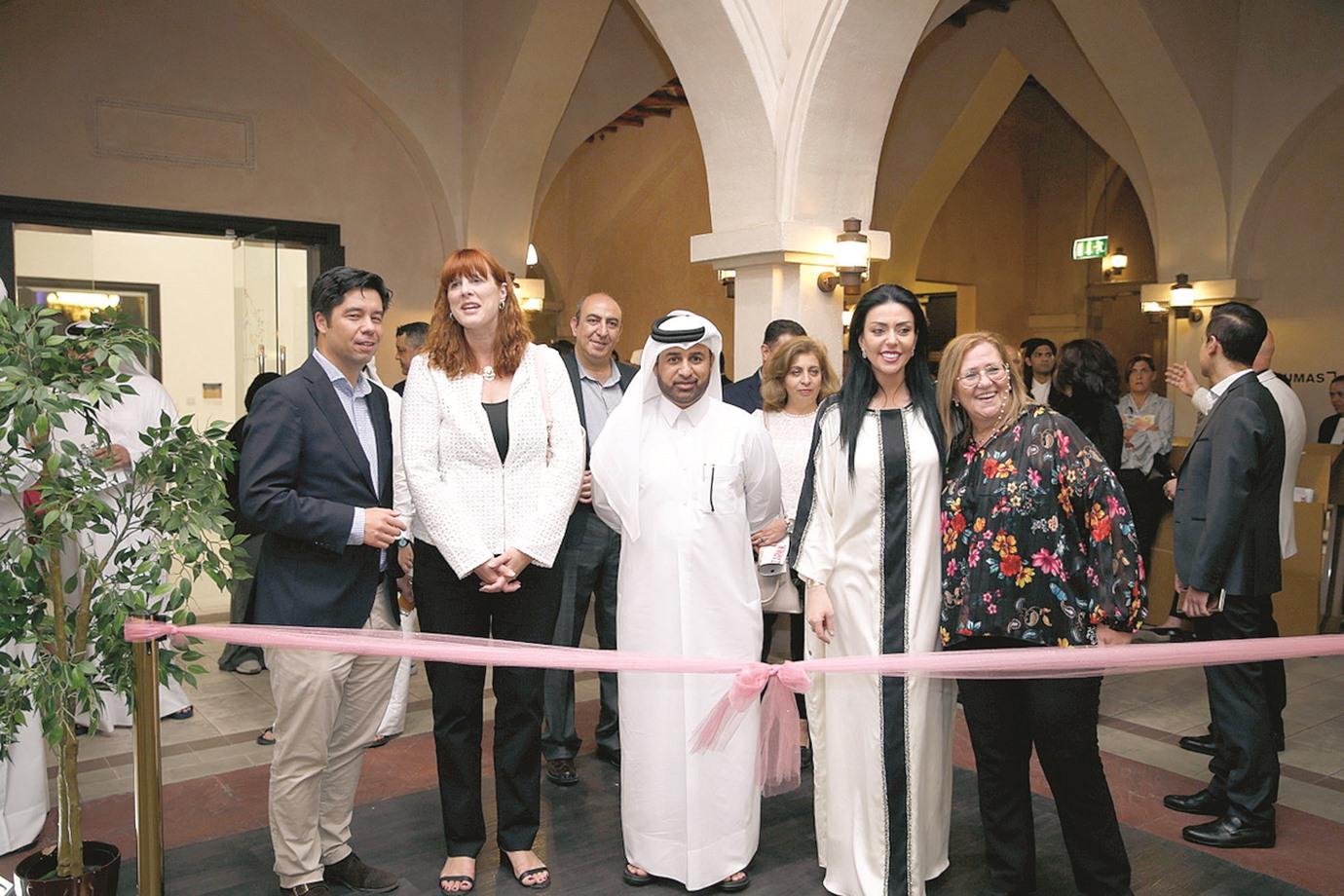 Qatari artist displays his works at Escapism exhibition at Katara