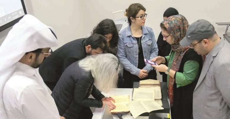 Qatar National Library hosts workshop on Islamic manuscript papers