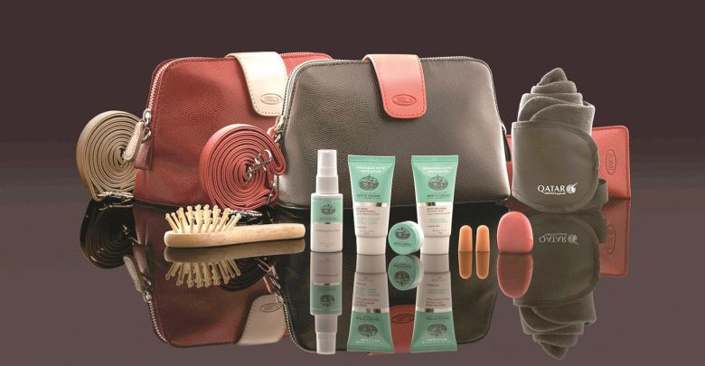 Qatar Airways launches new BRIC's amenity kits collection