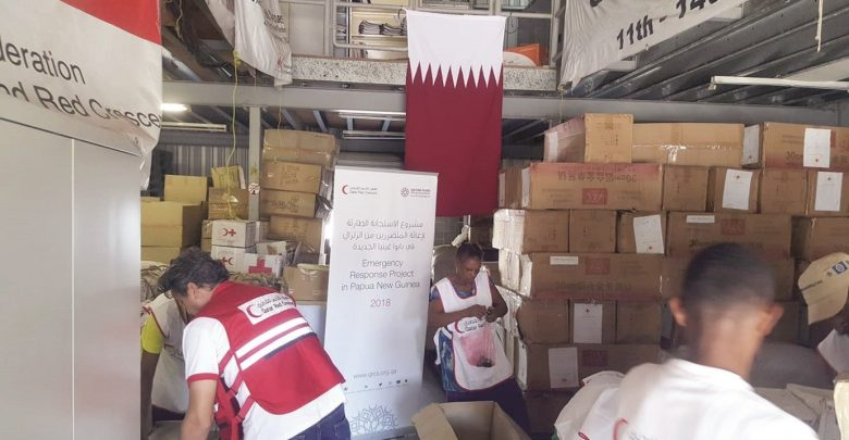 QRCS implements relief programme in Papua New Guinea