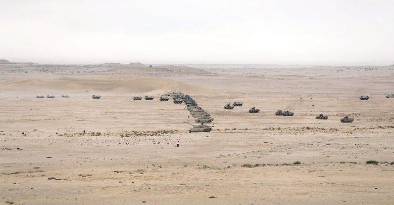 Al Adeid exercise concludes