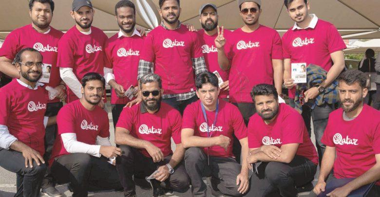 SC volunteers participate in organising major events