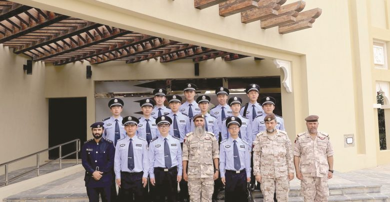 President of National Service Academy meets Chinese Police delegation