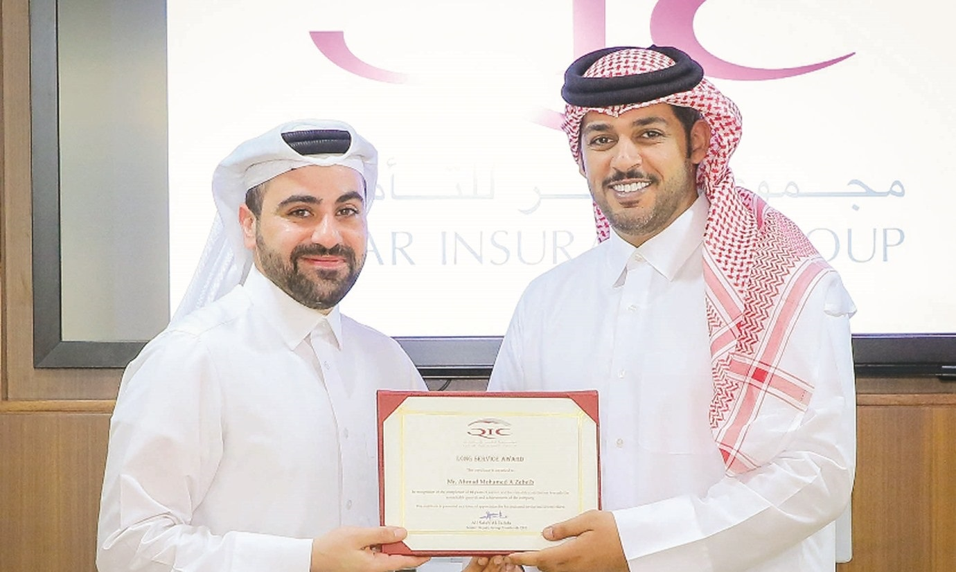 QIC Group honours staff with long-service awards