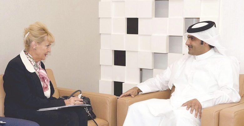 Qatar Media Corporation CEO meets Ambassador of Sweden
