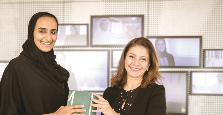 Sheikha Hind meets Princess Dana Firas at QF