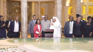President of Botswana visits Katara